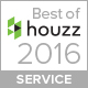 Best of Houzz 2016 service award